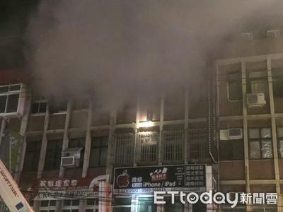 醫院對面公寓大火 外勞爬窗逃生老婦亡