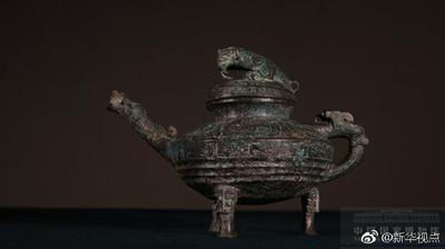 圓明園青銅「虎鎣」11日重回中國