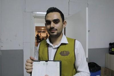 敘利亞難民逃離戰火 慈濟助他回校