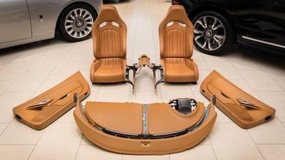 Bugatti Veyron的內裝出售中