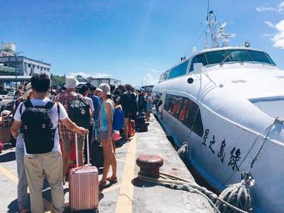 明年冬季往返蘭嶼船班每周增為3趟次