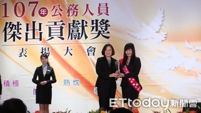 台東交觀處 獲公務人員傑出貢獻獎