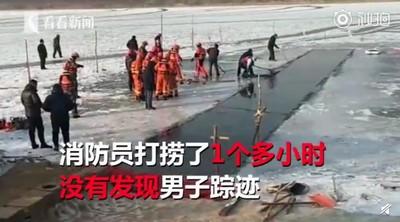 勇猛男破冰冬泳 「出口被冰封」溺斃