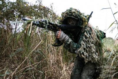 國軍狙擊手鑑測發揮奇襲