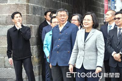 羅友志出招 柯文哲搭蔡英文選副總統
