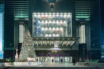 全球唯一Dior聖誕樹就在台北101