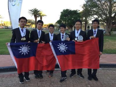 實驗高中陳謙毅 奪奧林匹亞金牌