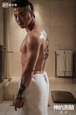 ▲▼金載沅隔11年變了 全身刺青、肌肉(圖/翻攝自Youtube、愛奇藝台灣站提供)