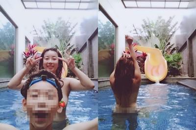 辣媽PO與12歲兒洗澡 引網友熱議
