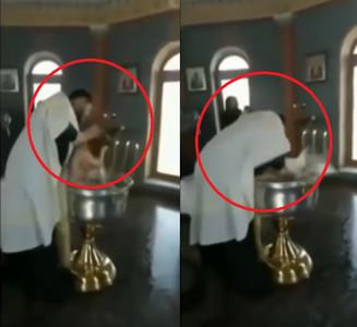 神父強壓女童頭浸水3次:這是洗禮!