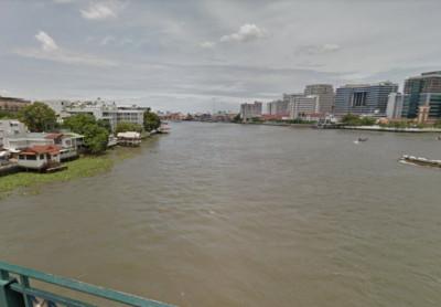 曼谷河面漂腐爛人腿 發黑斷趾