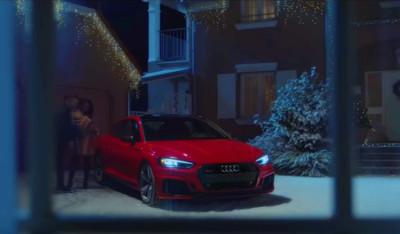 奧迪最新聖誕節趣味廣告