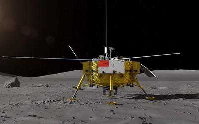 嫦娥四號順利進入環月軌道