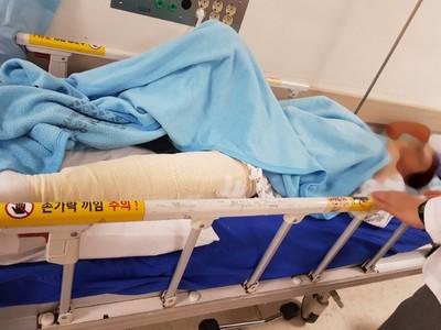 5旬癌婦醫院停車場遭狠撞28下