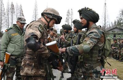 中、印陸軍反恐 各派百人混編同訓