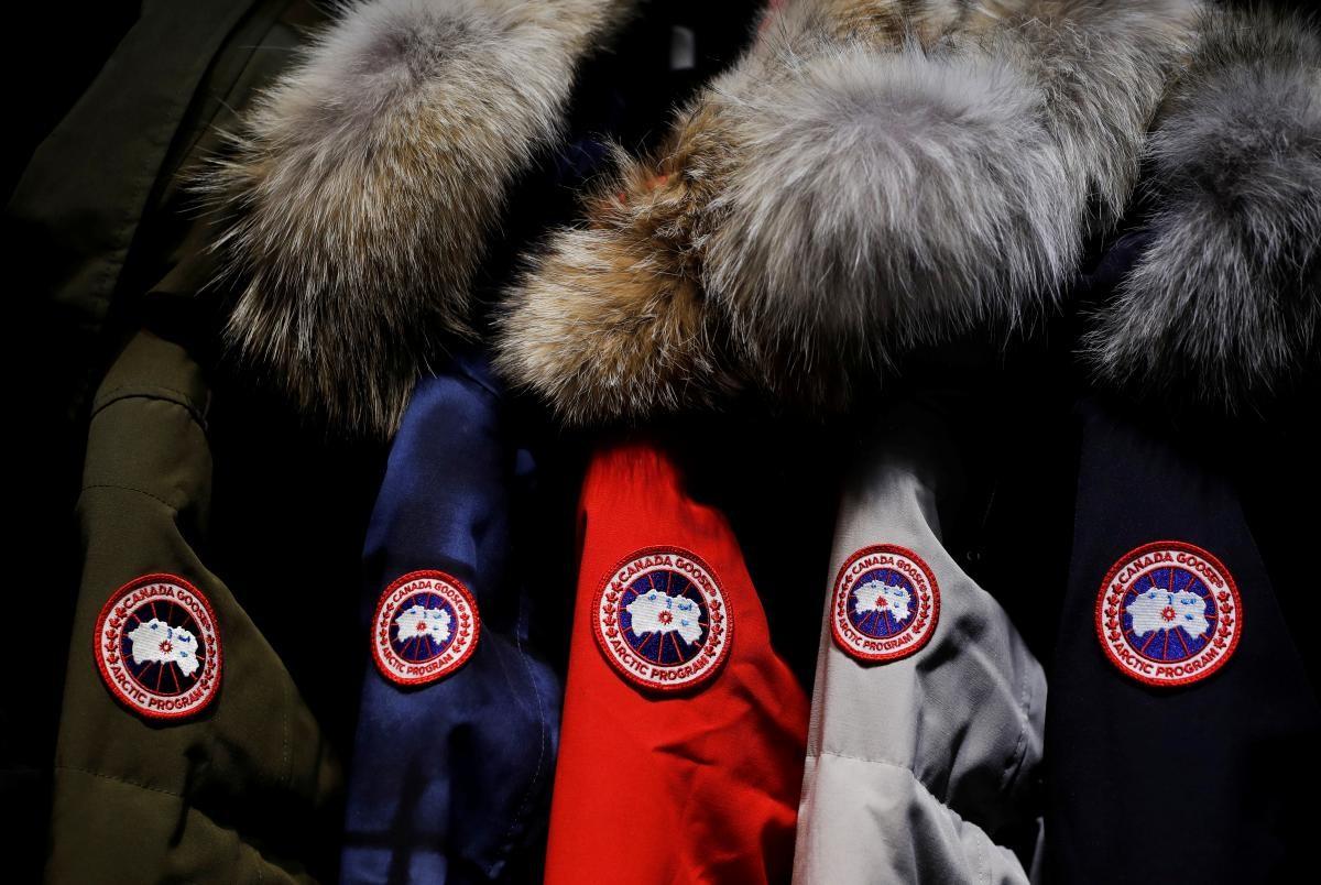 ▲知名羽絨衣品牌「加拿大鵝」(Canada Goose)。(圖/路透社)