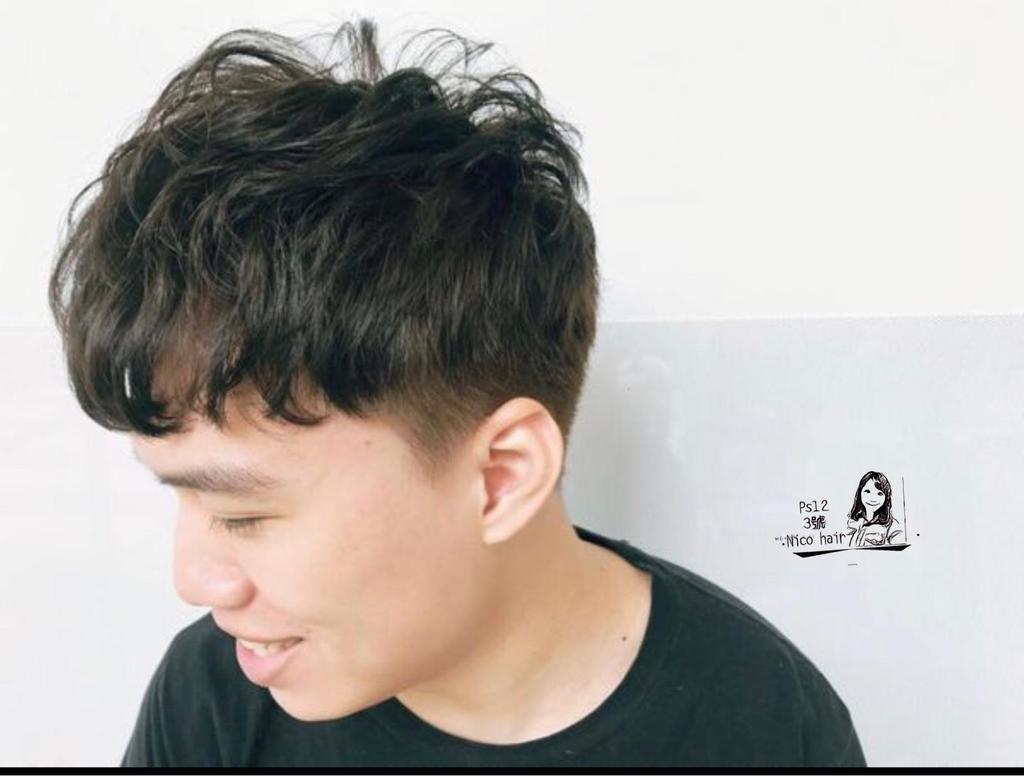 男生v字发型怎么剪