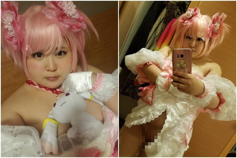 ▲美瑠喜時常在推特上分享Cosplay照片。(圖/翻攝自美瑠喜kuchipatchi85推特)