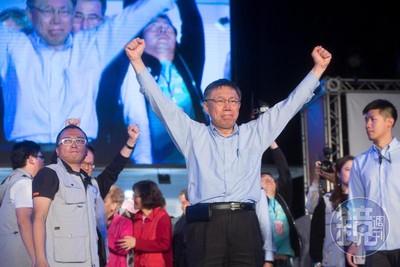 他預言:中間選民像海水般湧向柯P