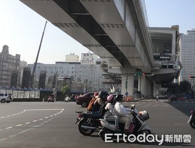 台中捷運工安意外 工人墜樓骨折