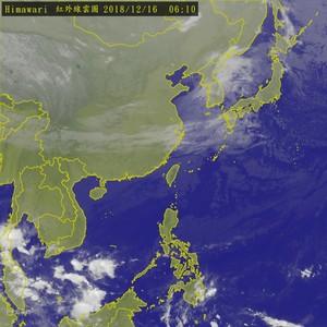 冷氣團下午報到 北台傍晚降溫有雨