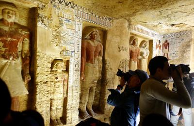 埃及發現4400年祭司墓室!保存完整