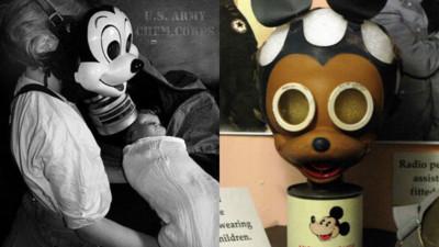 窒息的時代!迪士尼發行米奇防毒面具 讓孩子當玩具「降低恐懼」