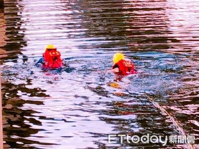 男子跳水 消防人員搜救送醫