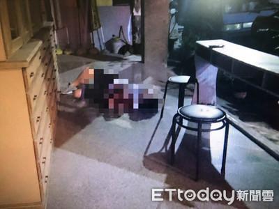 狠男為5萬元「刺友3刀」 他血濺騎樓送醫亡