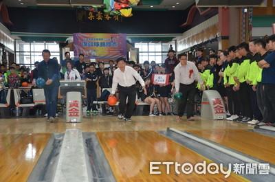 大專保齡球賽 28校207選手競技