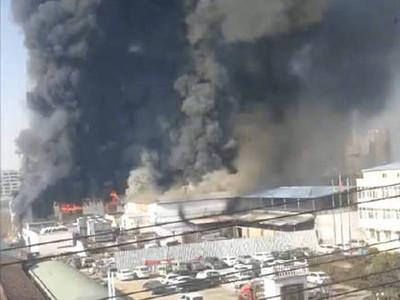 河南商丘工廠大火 已釀11人死亡