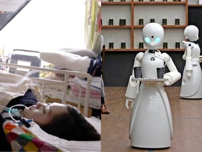 最暖發明!漸凍者「眼球遠端操控」咖啡店機器人 癱瘓照樣融入社會