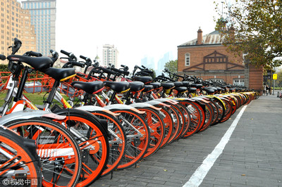 400輛共享單車貼山寨二維碼 冒險只為紅包