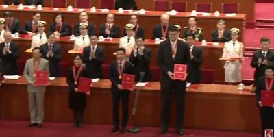 馬雲、姚明獲「改革先鋒」靦腆影片出爐