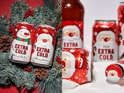 南韓、台灣推聖誕造型啤酒