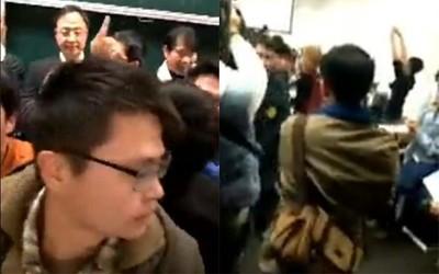 台大生還原江宜樺被抗議2真相:搏版面後笑著離場