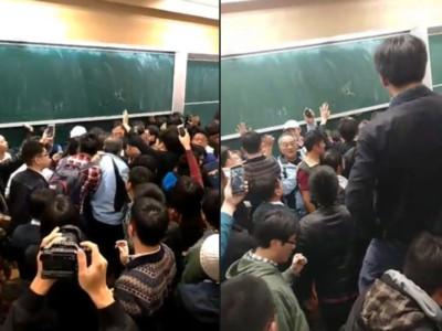 江宜樺演講被嗆 蔡正元:台大素質差