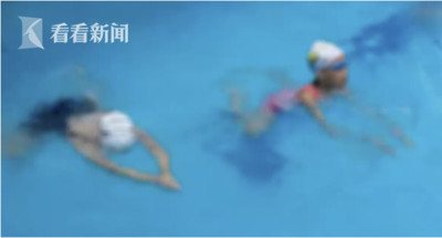 女童泳池溺水垂死 母狂滑手機不知