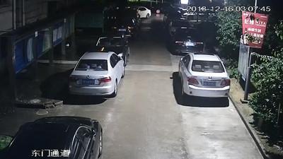 影/偷開姑姑車 社區連撞BMW、Audi