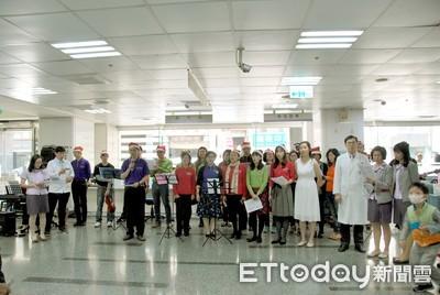 台南聖教會 醫院開聖誕音樂會