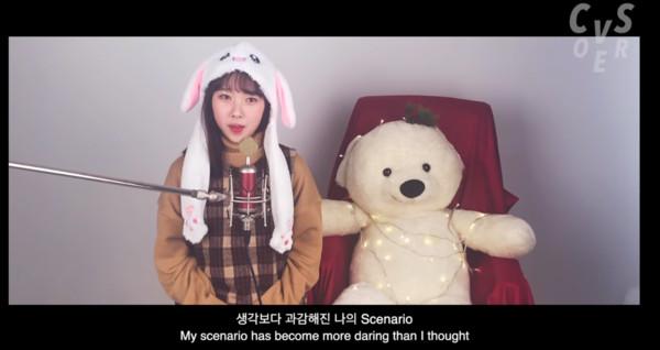 太妍妹妹金夏妍唱歌。(圖/翻攝自Youtube/Conveyor Sounds)