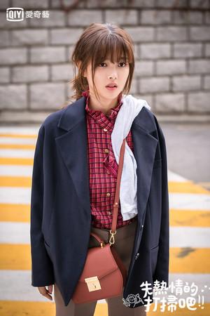 ▲▼金裕貞在劇裡飾演邋遢女孩。(圖/愛奇藝台灣站提供)