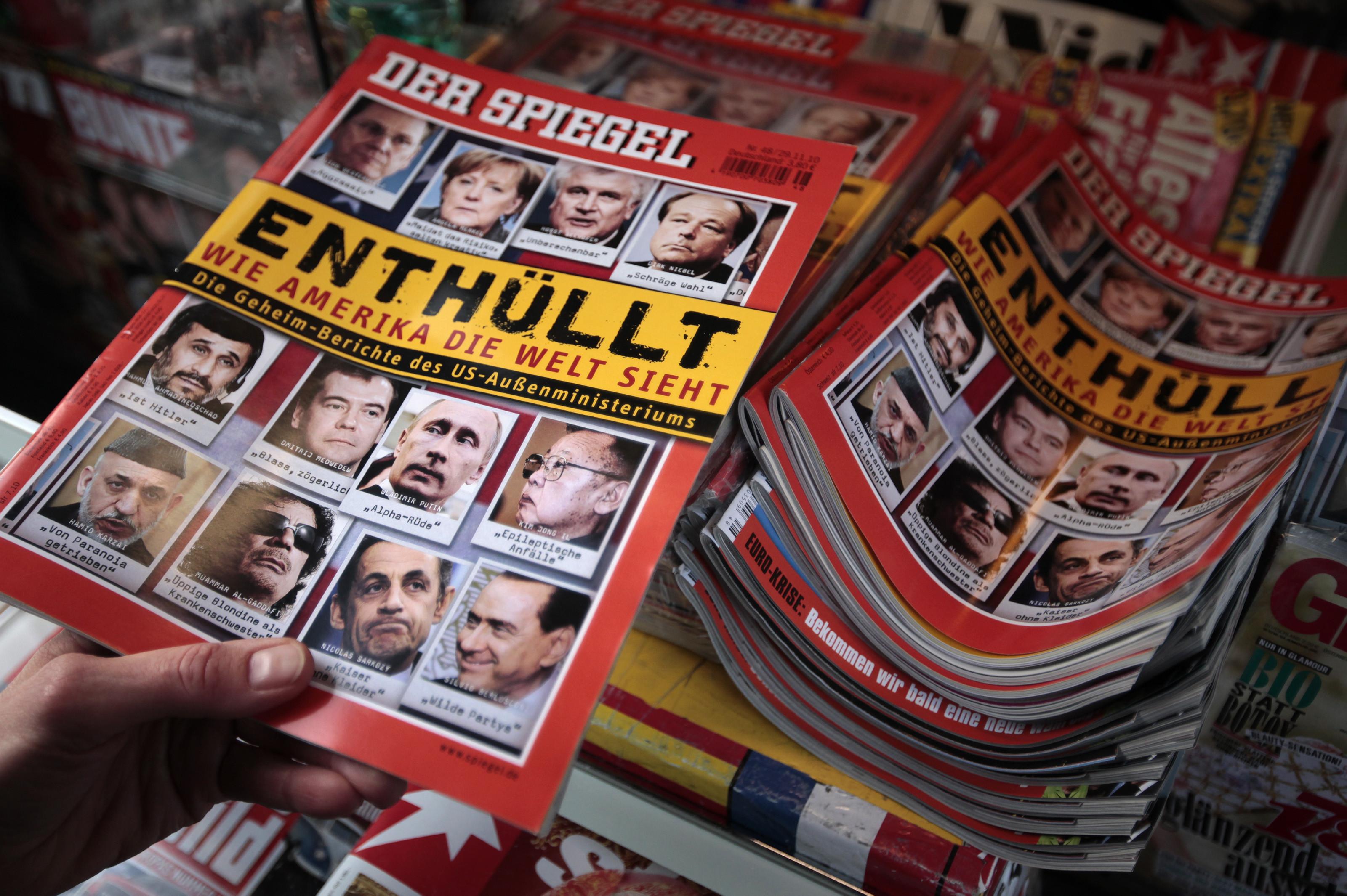 ▲德國雜誌《明鏡》周刊(Der Spiegel)。(圖/路透社)