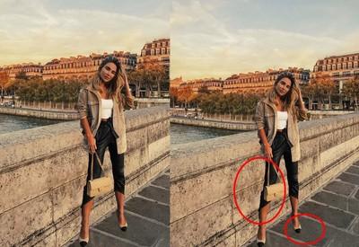網美po美照稱遊法國 照片太假被看破手腳