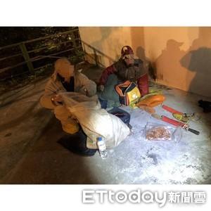 山老鼠夜宿停車場 警盤查搜出
