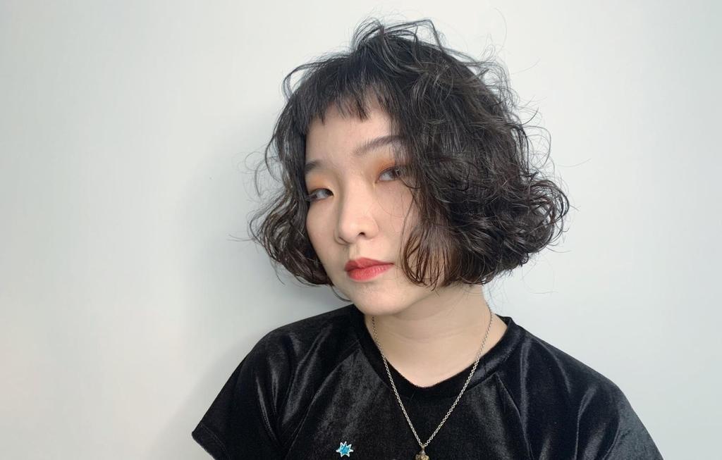 ▲超強小臉術,及肩短髮。(圖/stylemap提供)