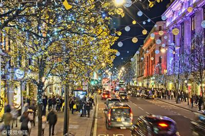 聖誕節陸客到英國人數 比去年成長4成