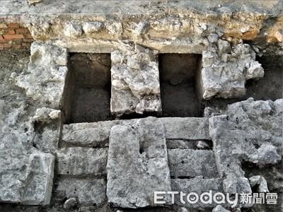 意外挖出200年遺址 建商善保存