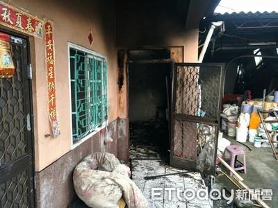 媳婦燒垃圾桶雜物引發火警 公公燒死床邊