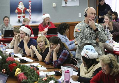 政府關閉仍追耶誕老人送禮進度